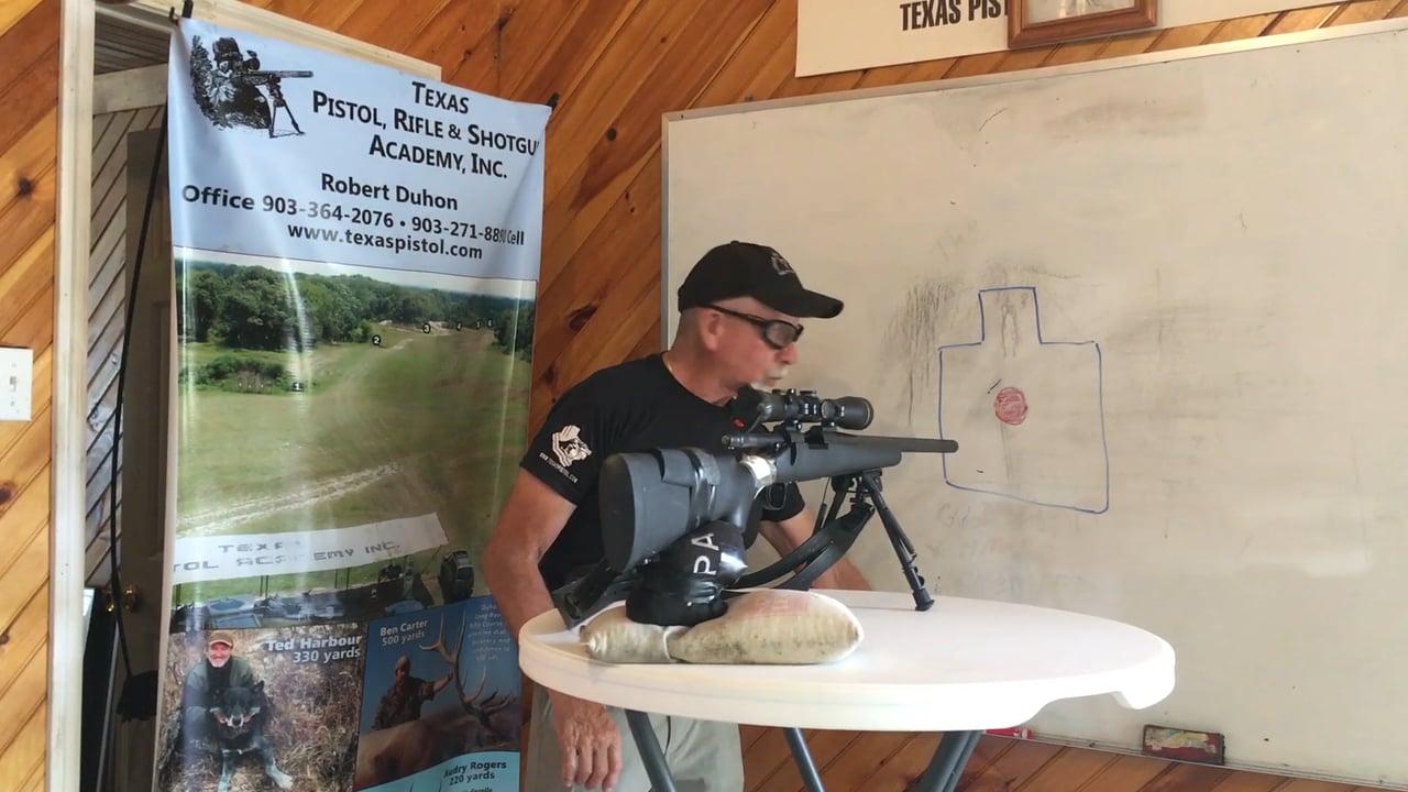Bolt Rifle – How to sandbag your rifle