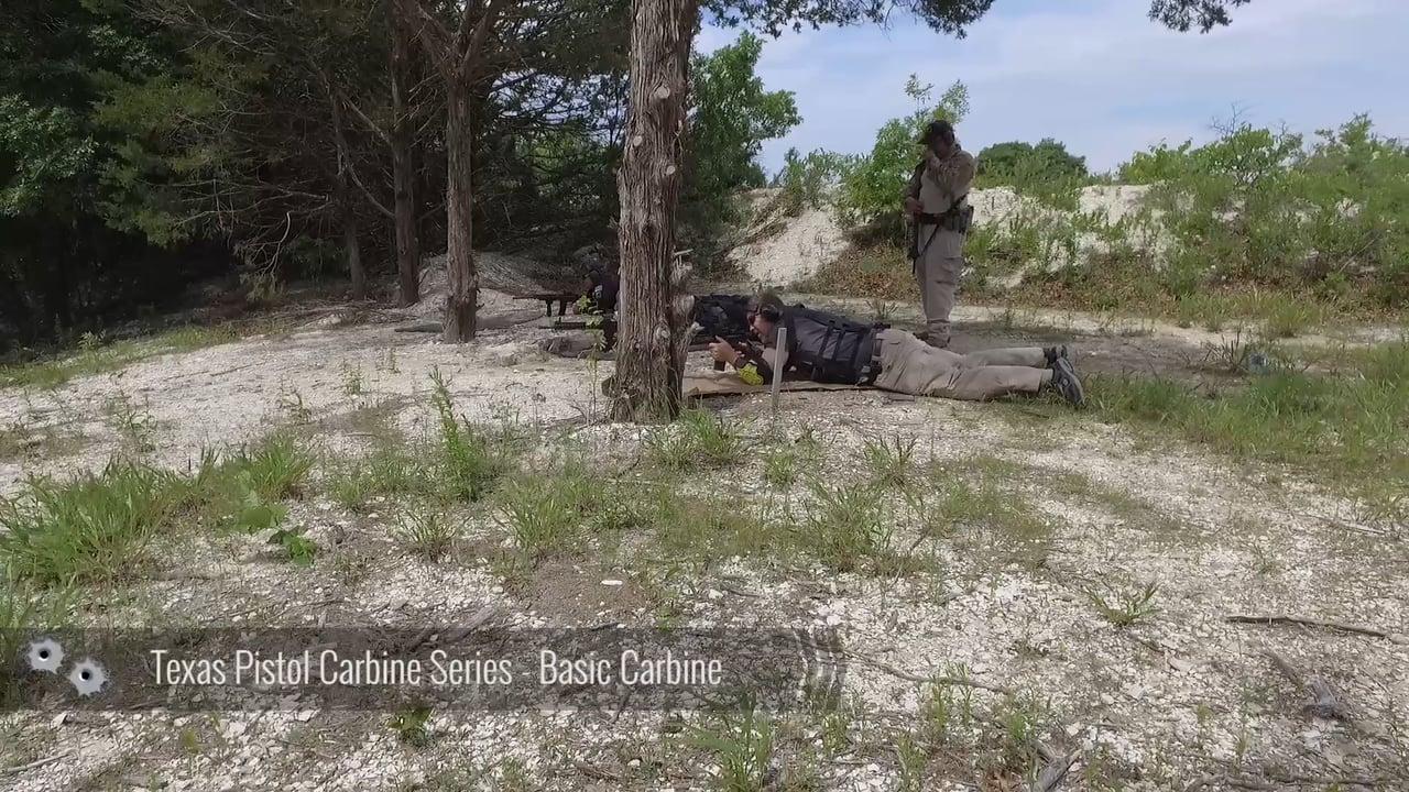 Texas Pistol Carbine Series – Basic Carbine